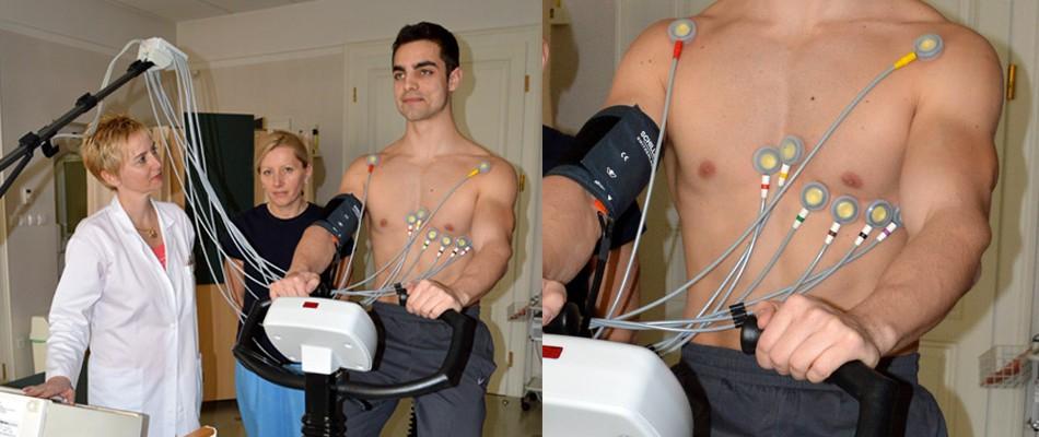 Obremenitveno testiranje srca – Cikloergometrija