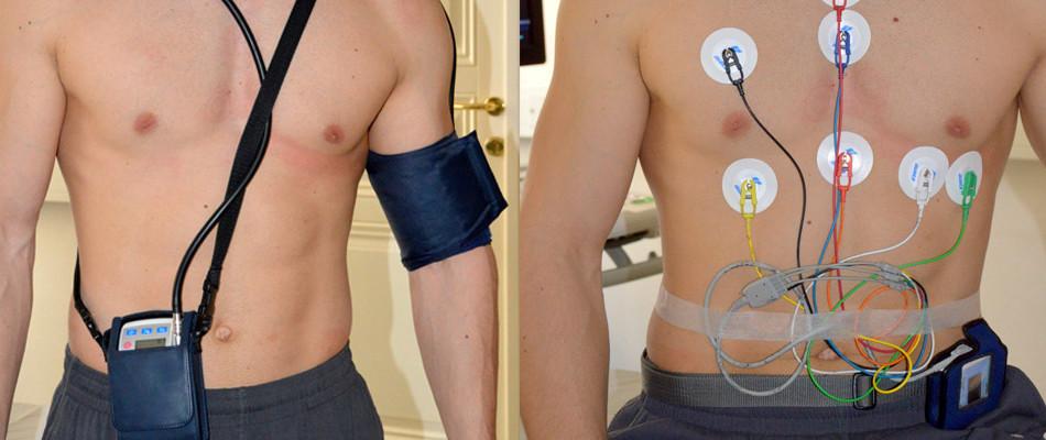 24 urno  snemanje EKG
